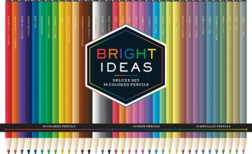 Bright Ideas Deluxe Colored Pencils Set