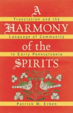 Patrick M. Erben A Harmony of the Spirits