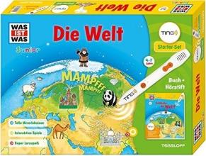 Herrmann, Heike Was ist was Ting-Starter-Set Die Welt. Kinderbuch und Hörstift