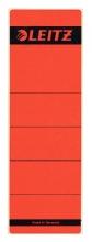 , Rugetiket Leitz breed/kort 62x192mm zelfklevend rood