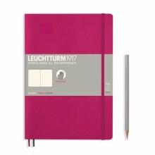 Lt355281 , Leuchtturm notitieboek composition softcover 178x254 mm blanco berry