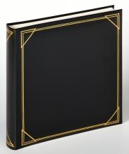 , Fotoalbum Walther klassiek 30x30cm 100vel zwart