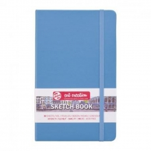 931421m , Talens art creation schetsboek 80 vel 140gr 13x21 lake blue