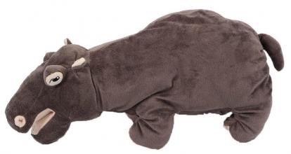 , Knuffel pluche nijlpaard 48 cm
