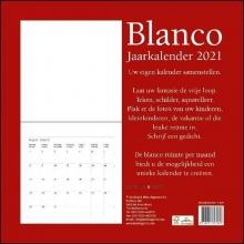 , Blanco maandkalender 2021