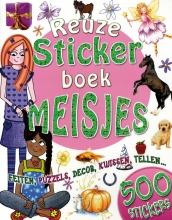 , Reuze stickerboek meisjes