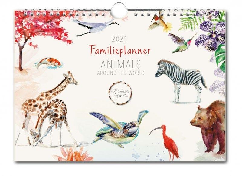 ,Michelle Dujardin, Animals, familie planner 2021