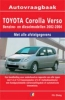 <b>Vraagbaak Toyota Corolla Verso</b>,Benzine/Diesel 2002-2004