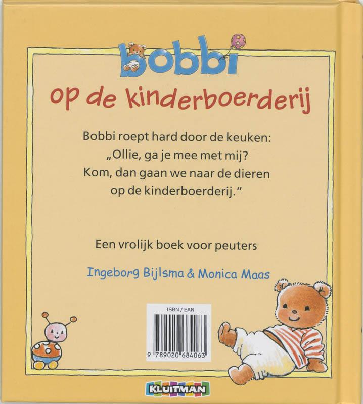 Ingeborg Bijlsma, Monica Maas,Bobbi op de kinderboerderij