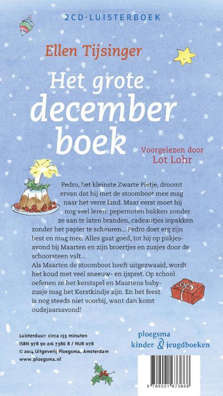 Ellen Tijsinger,Het grote decemberboek