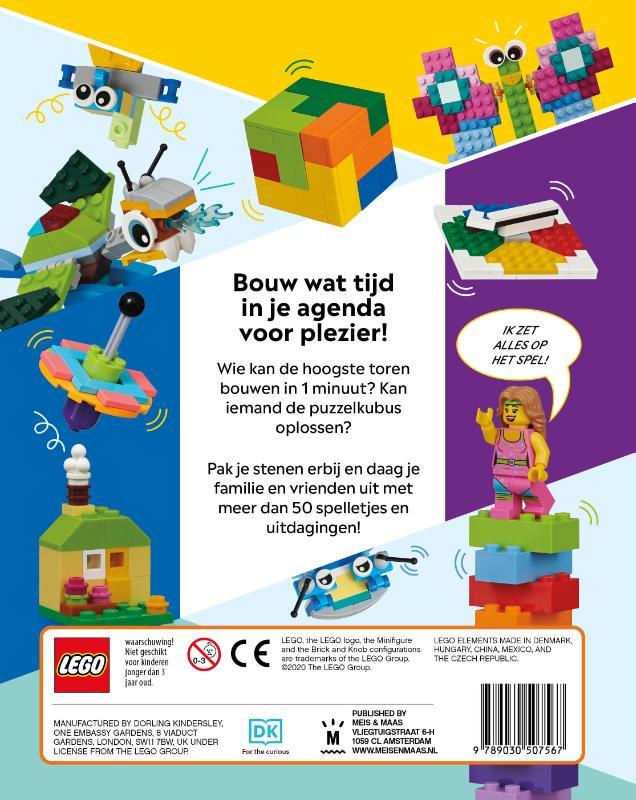 ,Het LEGO Spelletjes boek