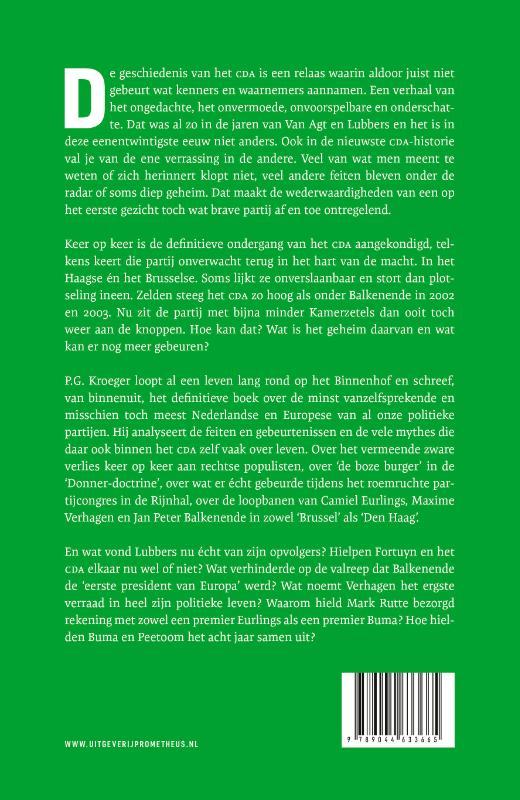 Pieter Gerrit Kroeger,Tand des tijds