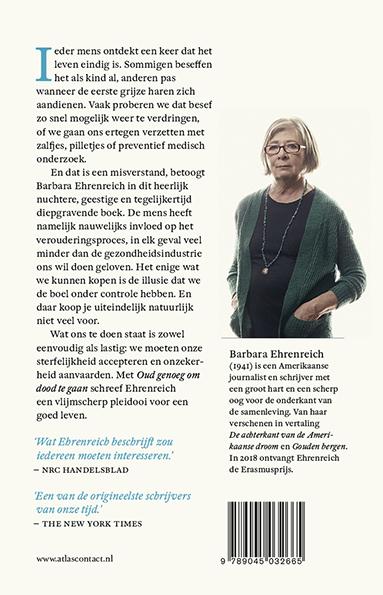 Barbara Ehrenreich,Oud genoeg om dood te gaan