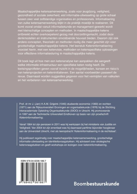 J.H.A.M. Grijpink,Keteninformatisering in kort bestek