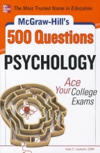 Ledwith, Kate C. McGraw-Hill`s 500 Psychology Questions