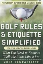 Companiotte, John Golf Rules & Etiquette Simplified