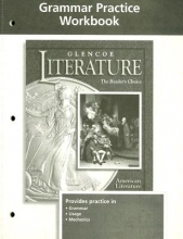 McGraw-Hill Education Glencoe Literature American Literature Grammar Practice Workbook