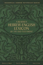 Zondervan A Reader`s Hebrew-English Lexicon of the Old Testament