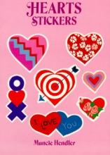 Hendler, Muncie Hearts Stickers