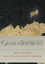 Hbo Game of Thrones 2016-2017 16-Month Executive Engagement Calendar