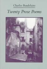 Baudelaire, Charles Twenty Prose Poems