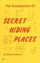 Robinson, Charles The Construction of Secret Hiding Places