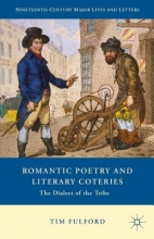 Fulford, Tim Romantic Poetry and Literary Coteries