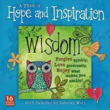Mori, Deborah A Year of Hope and Inspiration 2017 Calendar