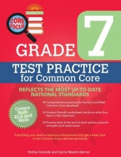 Connolly, Techla S.,   Meyers, Carrie Barron`s Core Focus - Grade 7 Test Practice for Common Core