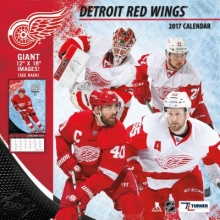 Detroit Red Wings 2017 Calendar
