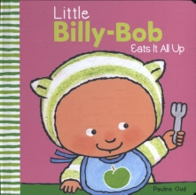Little billy bob eats it all up