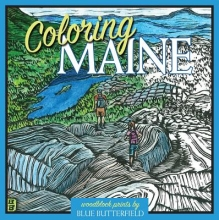 Butterfield, Blue Coloring Maine