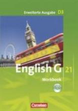 Schwarz, Hellmut English G 21. Erweiterte Ausgabe D 3. Workbook mit Audios online
