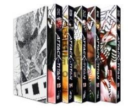 Isayama, Hajime Attack on Titan, Bände 11-15 im Sammelschuber mit Extra