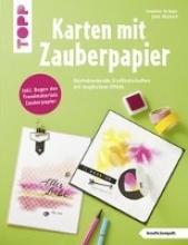 Krieger, Susanne,   Miebach, Julia Karten mit Zauberpapier (kreativ.kompakt)