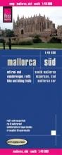 , Reise Know-How Rad- und Wanderkarte Mallorca, Süd 1 : 40.000