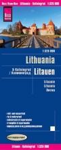 , Reise Know-How Landkarte Litauen und Kaliningrad 1 : 325.000