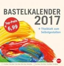 Bastelkalender 2017 gro champagner