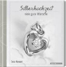 Geschenkbuch - Silberhochzeit - viele gute Wünsche