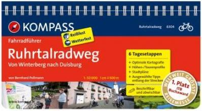 Pollmann, Bernhard FF6304 Ruhrtalradweg Kompass