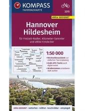 Kompass-Karten Gmbh , KOMPASS Fahrradkarte Hannover, Hildesheim 1:50.000, FK 3215