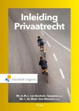 I. de Waal-van Wessem A.M.J. van Buchem-Spapens, Inleiding privaatrecht
