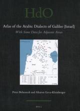 Aharon Geva Kleinberger Peter Behnstedt, Atlas of the Arabic Dialects of Galilee (Israel)
