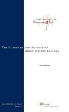 Tim Elkerbout , The European and Australian short selling regimes