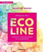 Martine Boere , Werken met Ecoline