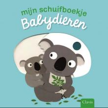 Nathalie  Choux Mijn schuifboekje. Babydieren