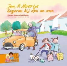 Marianne  Busser, Ron  Schröder Jan & Noortje logeren bij opa en oma