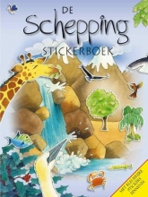 Su  Box De Schepping (stickerboek)