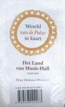 Peter Holvoet-Hanssen , Wereld van de Po¿zie in kaart (5 ex.)