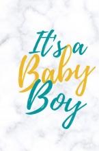 Miljonair Mindset , Babyshower gastenboek It`s a baby boy